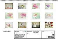 Vintage Flowers (Wandkalender 2018 DIN A2 quer) - Produktdetailbild 13