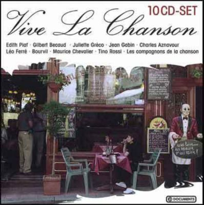 Vive La Chanson, 10 CDs, Diverse Interpreten