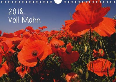 Voll Mohn (Wandkalender 2018 DIN A4 quer), Michael Möller