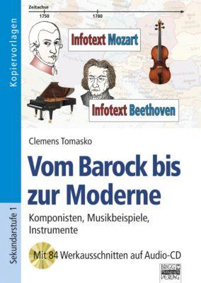Vom Barock bis zur Moderne, m. Audio-CD, Clemens Tomasko