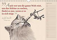 Von Katzen lernen (Wandkalender 2018 DIN A4 quer) - Produktdetailbild 4