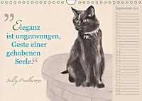 Von Katzen lernen (Wandkalender 2018 DIN A4 quer) - Produktdetailbild 9