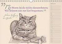 Von Katzen lernen (Wandkalender 2018 DIN A4 quer) - Produktdetailbild 7