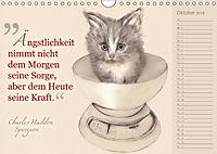 Von Katzen lernen (Wandkalender 2018 DIN A4 quer) - Produktdetailbild 10
