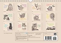 Von Katzen lernen (Wandkalender 2018 DIN A4 quer) - Produktdetailbild 13
