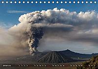 Vulkane - Magma, Lava, Eruptionen (Tischkalender 2018 DIN A5 quer) Dieser erfolgreiche Kalender wurde dieses Jahr mit gl - Produktdetailbild 1