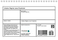 Vulkane - Magma, Lava, Eruptionen (Tischkalender 2018 DIN A5 quer) Dieser erfolgreiche Kalender wurde dieses Jahr mit gl - Produktdetailbild 13