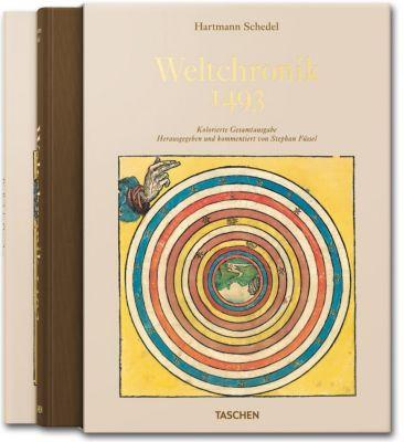 Weltchronik 1493, m. Begleith., Hartmann Schedel