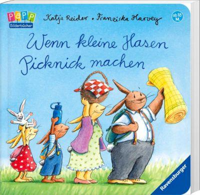Wenn kleine Hasen Picknick machen, Katja Reider