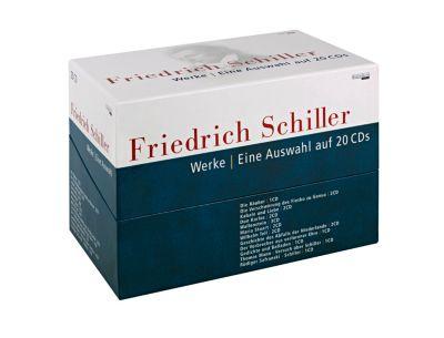Werke, 20 Audio-CDs, Friedrich von Schiller
