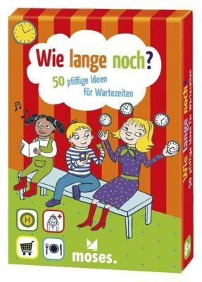 Wie lange noch? 50 pfiffige Ideen für Wartezeiten, Karten, Nina Schiefelbein