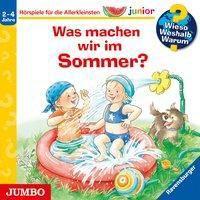 Wieso? Weshalb? Warum? junior. Was machen wir im Sommer?, 1 Audio-CD, Patricia Mennen