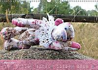 Wilde Bären - Teddybär-Porträts voller Charakter (Wandkalender 2018 DIN A3 quer) - Produktdetailbild 3