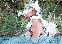 Wilde Bären - Teddybär-Porträts voller Charakter (Wandkalender 2018 DIN A3 quer) - Produktdetailbild 4