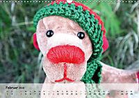 Wilde Bären - Teddybär-Porträts voller Charakter (Wandkalender 2018 DIN A3 quer) - Produktdetailbild 2