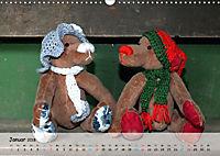Wilde Bären - Teddybär-Porträts voller Charakter (Wandkalender 2018 DIN A3 quer) - Produktdetailbild 1