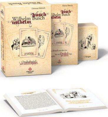 Wilhelm Busch Orakel, m. Orakelkarten, Dietmar Bittrich