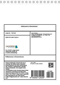 Willkommen in Bremerhaven (Tischkalender 2018 DIN A5 hoch) - Produktdetailbild 13