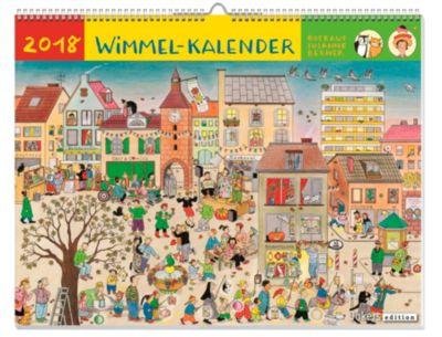 Wimmel-Kalender 2018