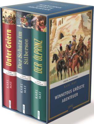 Winnetous größte Abenteuer, 3 Bde., Karl May