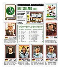 World Cup - die Panini Fußballsticker 1970-2014 - Produktdetailbild 6