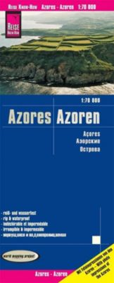 World Mapping Project Landkarte Azoren (1:70.000); Azores; Acores