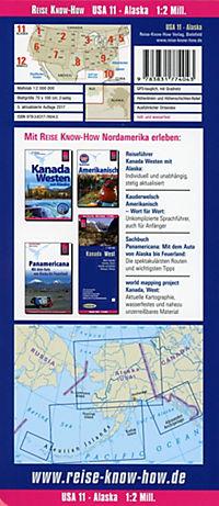World Mapping Project Reise Know-How Landkarte USA, Alaska (1:2.000.000) - Produktdetailbild 1