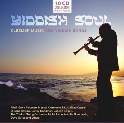 Yiddish Soul - Klezmer Music, 10 CDs, Giora And Others Feidman
