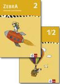 Zebra, Ausgabe ab 2007: 1./2. Schuljahr, Arbeitsheft Sprache; 2. Schuljahr, Arbeitsheft Lesen/Schreiben, 2 Bde.