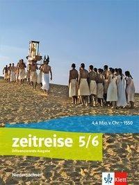 Zeitreise. Differenzierende Ausgabe für Niedersachsen ab 2018: 5./6. Klasse, Schülerbuch
