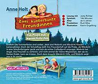 Zwei kunterbunte Freundinnen Band 2: Ein Mops mit Namen Möhrchen (2 Audio-CDs) - Produktdetailbild 1