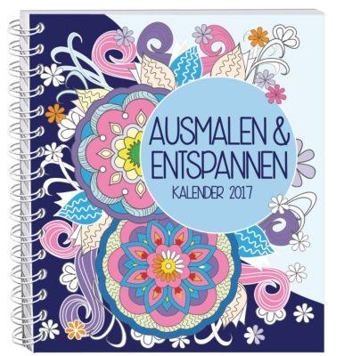 Ausmalen & Entspannen Kalender 2017