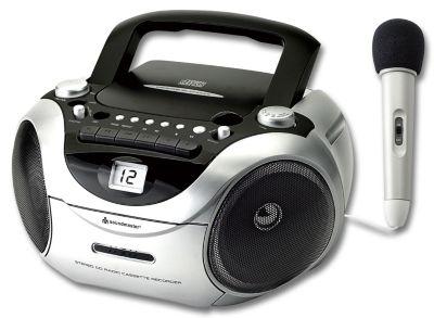 Boombox SCD 5650, mit Mikrofon, (Farbe: schwarz)