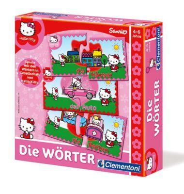 Clementoni - Hello Kitty Die Wörter, Lernspiel