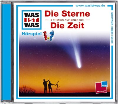 Die Zeit / Die Sterne, Audio-CD, Kurt Haderer