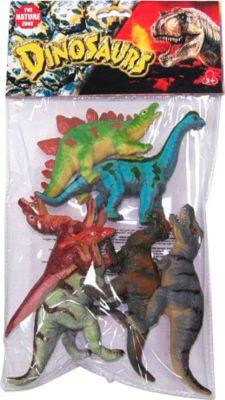 Dinosaurier 6 Stück i. Beutel, ca. 15