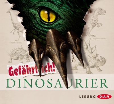 Dinosaurier, Audio-CD, Robert Mash
