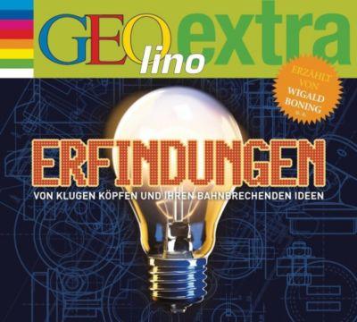 Erfindungen - Von klugen Köpfen und ihren bahnbrechenden Ideen, 1 Audio-CD, Martin Nusch
