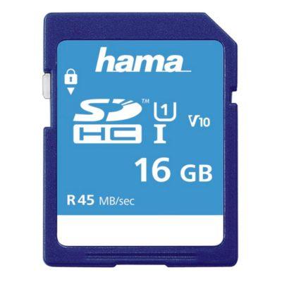 Hama SDHC 16GB Class 10 UHS-I 45MB/S