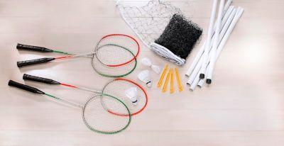 Hudora Team RQ-44, Badminton-Set