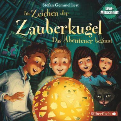 Im Zeichen der Zauberkugel - Das Abenteuer beginnt, 1 Audio-CD, Stefan Gemmel