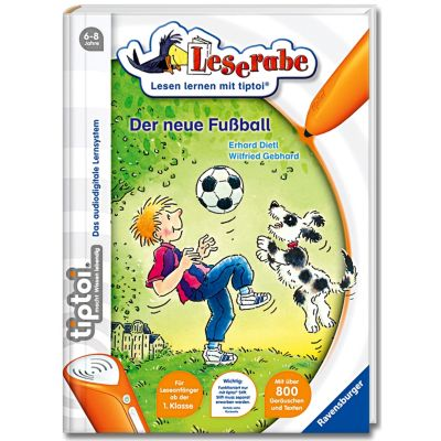Leserabe tiptoi® Band 2: Der neue Fußball, Erhard Dietl