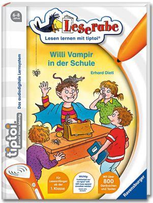 Leserabe tiptoi® Band 3: Willi Vampir in der Schule, Erhard Dietl