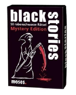 moses black stories - Mystery Edition, Gesellschaftsspiel, Holger Bösch