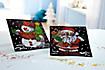 "Paillettenbilder (Motive: ""Weihnachtsmann & Schneemann"") - Produktdetailbild 3"