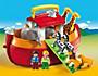 PLAYMOBIL® 6765 1-2-3 - Meine Mitnehm-Arche Noah - Produktdetailbild 1