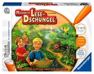 Ravensburger tiptoi® - Mission im Lesedschungel, Lernspiel