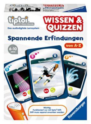Ravensburger tiptoi® - Wissen & Quizzen: Erfindungen