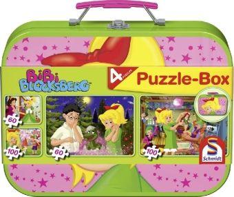 Schmidt Puzzle Bibi Blocksberg, 2 x 60 und 2 x 100 Teile