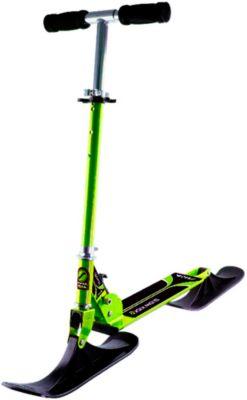 Snow Kick-Bike schwarz/grün